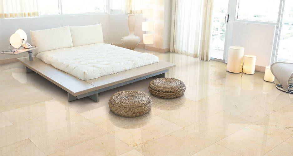 El color crema Marfil, tendencia en suelos de gres porcelánico