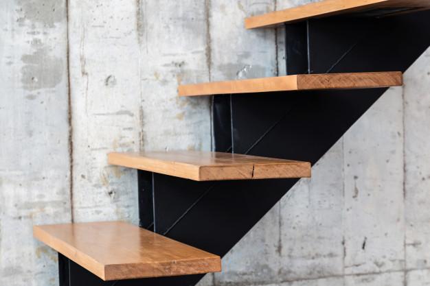 Elige el peldaño correcto para tu escalera.