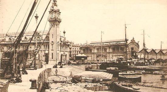 Historia de las escaleras valencianas (I): la Escalera Real del Puerto de Valencia