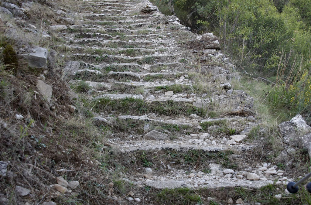 Historia de las escaleras valencianas (II): el Barranco del Infierno (Barranc de l'Infern)